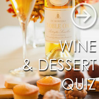 Wine & Dessert Quiz